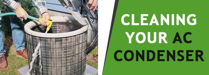 Cleaning Your AC Condenser
